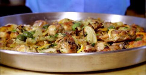 Mediterranean Braised Chicken with Meyer Lemon and FennelMediterranean Braised Chicken with Meyer Lemon and Fennel