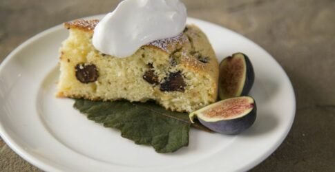 Fig Ricotta Cake