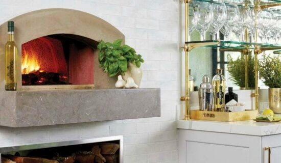 Mugnaini Oven and Bar