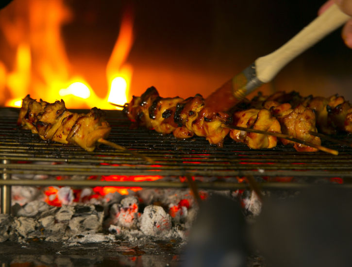 Sambal Chicken Skewers