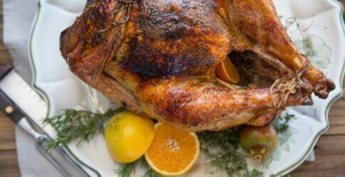 Apple Cider Wood Roasted Turkey