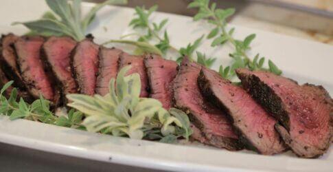 Wood-Roasted Whole Beef Tenderloin in Aromatic Salt