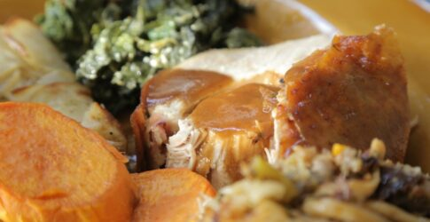turkey gravy on turkey