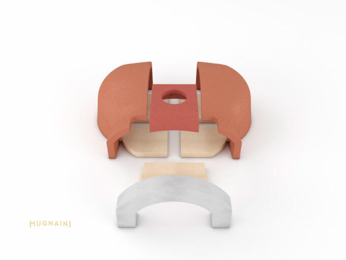 Mugnaini Piccolo 80 Masonry Kit