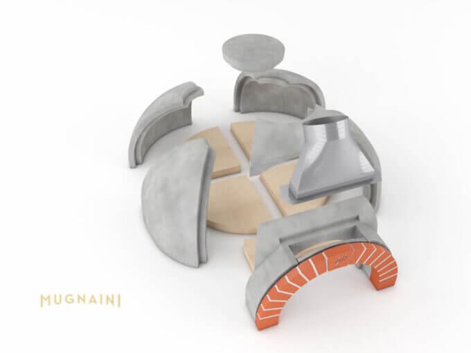 Mugnaini Model 100 Masonry Kit