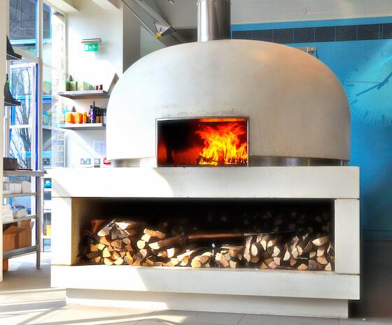 Mugnaini wood fired oven