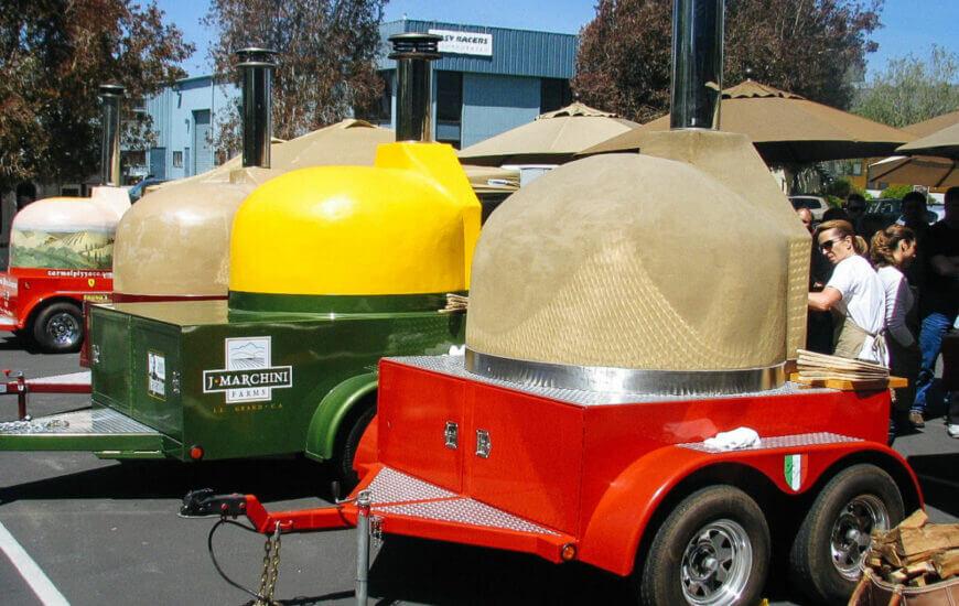 Mugnaini mobile ovens