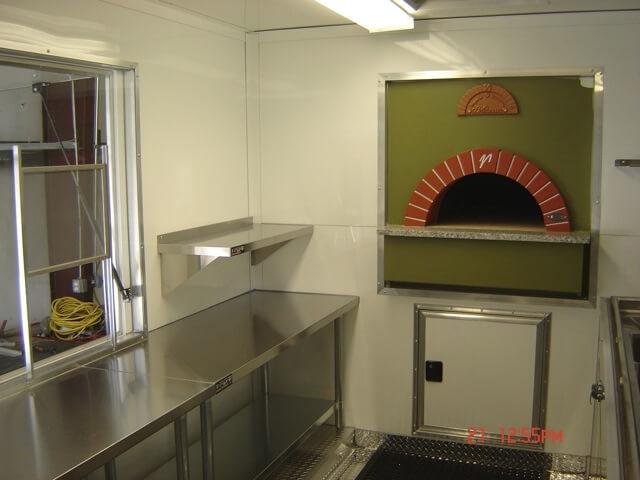 Mugnaini oven in a restaurant
