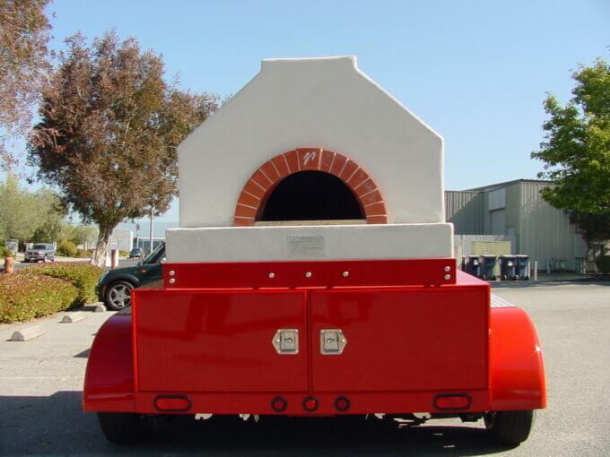 Mobile Mugnaini oven