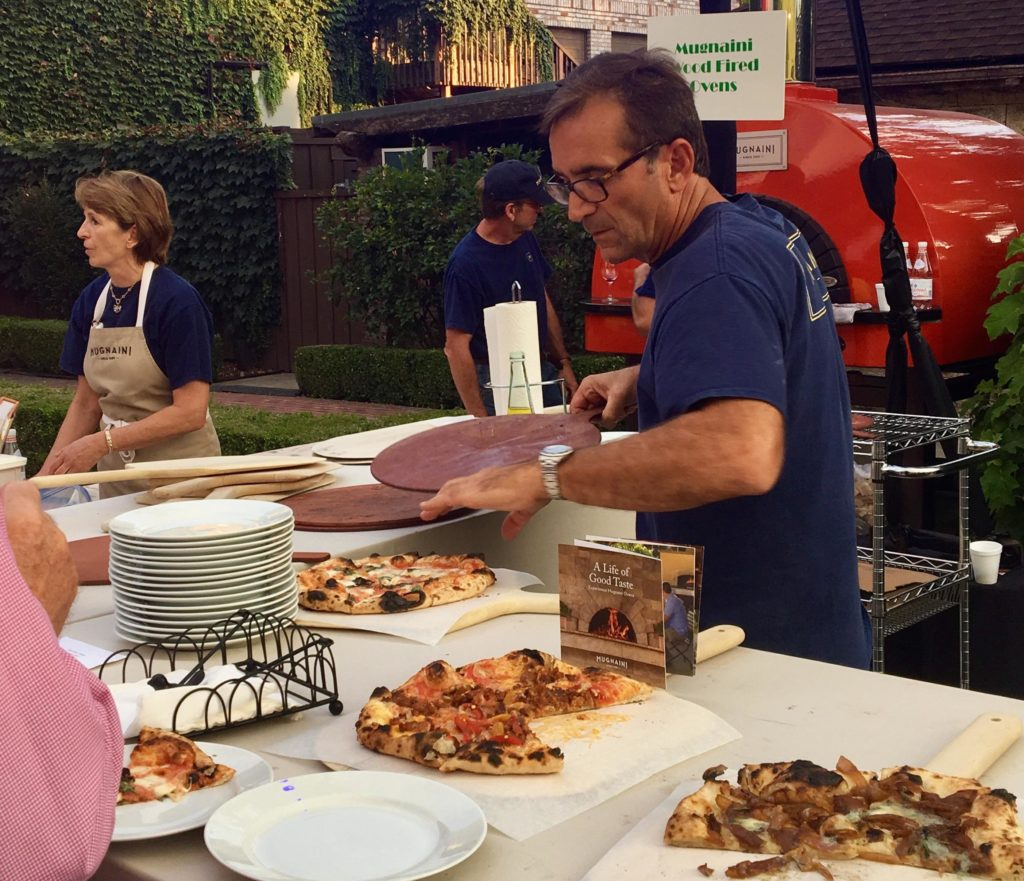 Over 100 Pizzas Served