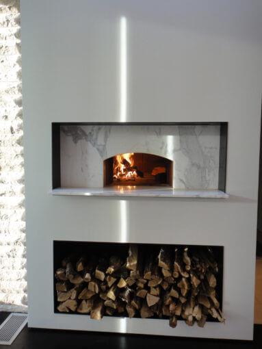 Mugnaini oven in a residence