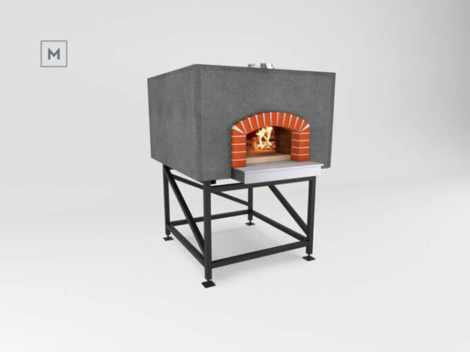 Mugnaini Prima 100 Pre-Assembled oven with flat roof