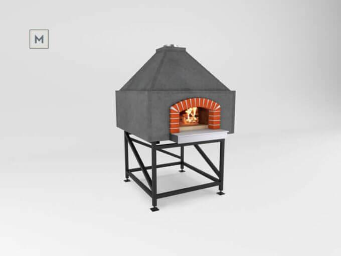 Mugnaini Prima 100 Pre-Assembled with hip roof
