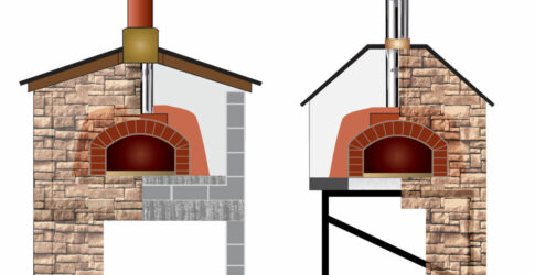masonry vs. steel ovens