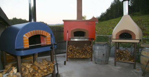 Mugnaini pre-assembled ovens