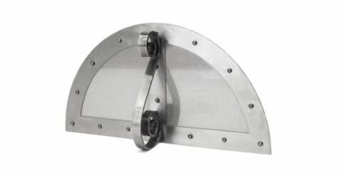 Storm door for a Mugnaini Prima oven