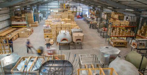 Mugnaini oven warehouse