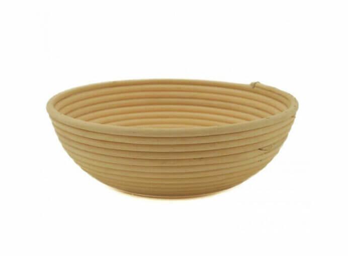 """Bread Basket, Banneton, Willow Round, 10.25""""x2.75"""""""