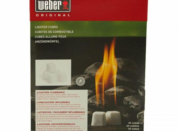 Weber Firestarters Box (24 Cubes)